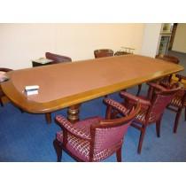Стол для покера «Перевертыш» со сменным вкладышем на резных ногах