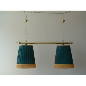 Светильник, двойной, ткань